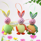 The-016のウサギの形のイースター装飾