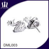 立方ジルコニア925の純銀製のアクセサリーのイヤリング
