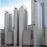 De grote OpenluchtTank van het Roestvrij staal van de Melk