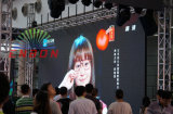 Écran P5 LED Outdoor 500 * 1000mm Cabinet Video Signboard Billboard