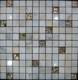 Cristal mixto de mosaico de piedra natural para el azulejo (FYSG045)