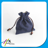 Bolso de empaquetado de la bolsa del regalo de la joyería con la impresión de encargo de la insignia