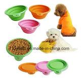 Bacia de bambu biodegradável do cão da potência do alimentador da bacia do animal de estimação