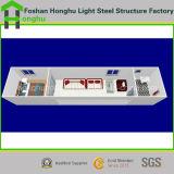 Casa ensanchable del envase del panel de emparedado del paquete plano de la alta calidad los 20ft
