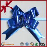 Arco de la decoración del regalo del Año Nuevo Arco Pre-Hecho Arcos púrpuras Cinta atada con alambre
