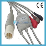 HP 8pins 3 Lead ECG Cable