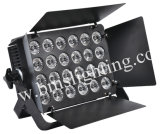 24 luces de la cara de RGBW 4in1 LED/luz ligera de /Spot de la luz/del proyecto de inundación