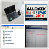 Todo el software de la reparación auto de Alldata de los datos 10.53 con Mitchell en el software 2015 de Demend en 1tb HDD instalado para DELL E6420 I5, computadora portátil 2g