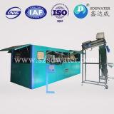 maquinaria plástica automática llena del moldeo por insuflación de aire comprimido de la botella 0.35L-2L