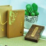 De jade die van het Type van Boek Houten Vakje verpakken
