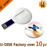 Подгонянный привод вспышки USB карточки высокого качества конструкции круглый