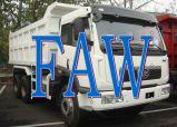 판매를 위한 새로운 FAW 6X4 30tons 덤프 팁 주는 사람 트럭