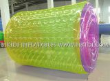Rolo inflável da água do parque da água, rolo inflável colorido gigante do rolo inflável da votação da água do fabricante original
