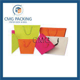 OEMの多彩で白いカードの小さいギフトのパッキング袋(DM-GPBB-037)