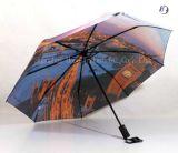 Guarda-chuva reto da impressão da transferência térmica