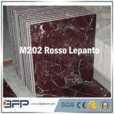 De rode Marmeren Tegel van de Vloer voor Hal/Bevloering/Badkamers/Keuken met Oppervlakte Shinning