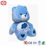 Melhor urso enchido da peluche do brinquedo dos miúdos do presente luxuoso extravagante azul