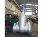 600lb Wcb A216 Rising Stem API Gate Valve com Gear Box