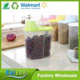 뚜껑을%s 가진 다채로운 음식 저장 상자 부엌 콘테이너 곡물 분배기
