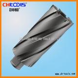 partie lisse annulaire de Weldon de coupeur de CTT de profondeur de découpage de 75mm