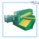Máquina de corte do jacaré de alumínio da imprensa da sucata