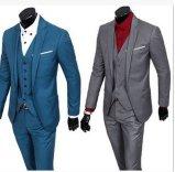 Anunciou o terno do homem/homens magros do ajuste negócio magro feito sob encomenda de /Tailored do terno dos homens do ajuste