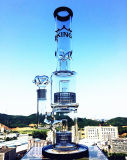 공장 도매 현미경 여과자 유리제 물 연기가 나는 관
