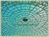 Morden 둥근 공간 Truss 지붕 프레임 강철 도서관 건물