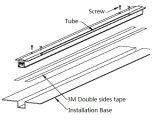 De LEIDENE Voorzijde die van Media Lineaire (l-226-s60-RGB) Buis Ce/UL/RoHS aansteken