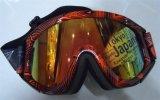 Izh019 PC Revo 입히는 Anti-Fog 스포츠 안전 스키 유리 광학 렌즈