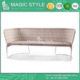 Acciaio inossidabile del giardino del sofà dell'iride della mobilia del patio della mobilia del nuovo sofà di vimini stabilito di disegno (STILE MAGICO)