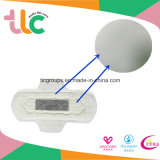 Senhora elevada guardanapo sanitário do algodão absorvente do OEM (TLC-240)