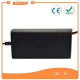 Заряжатель батареи цены по прейскуранту завода-изготовителя 7A 12V Suoer всеобщий с трехфазным режимом (SON-1207)