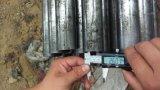 Material sin costuras de precisión de tuberías al mecanizar S20c S45c