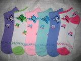 Calcetines grandes del tobillo de las señoras del precio bajo de las ventas