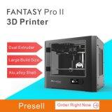 Принтер самого лучшего продавеца 3D сопла Fdm фантазии Ecubmaker двойной