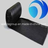 ロール製造業者のプラスチックごみ袋のHDPEの黒い環境に優しい