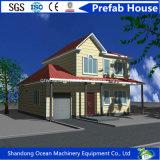 강철 이동할 수 있는 조립식 집이 유럽 작풍 소형 Prefabricated 이동할 수 있는 집에 의하여 집으로 돌아온다