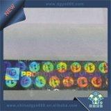 стикер обеспеченностью Hologram лазера 3D в листе