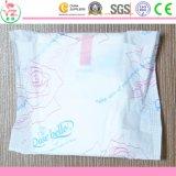 Gesundheitliche Auflage weiche der Baumwollweibliche Frauen-gesundheitliche Serviette-250mm