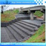 Alkali-Widerstehender Gabion Maschendraht schützen Roadway