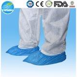 De waterdichte Beschikbare Plastic CPE Dekking van de Schoen voor Laboratorium en het Schoonmaken