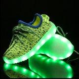 حارّ يبيع 2016 يمزح [لد] [ييزي] أحذية خفيفة يتوهّج [تبر] وحيدة عربيّة [لد] أحذية