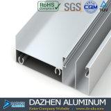 Profil en aluminium personnalisé pour la porte différente de tissu pour rideaux de guichet d'épaisseur de taille