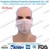 Venta caliente mascarilla de papel quirúrgica médica de los cabritos disponibles de 1 capa con Earloop Qk-FM0011
