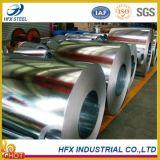 Bobina de acero galvanizada para la hoja del material para techos (DC51D+Z, DC51D+ZF, St01Z, St02Z, St03Z)