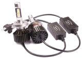 LEIDENE van de Lampen van de auto Bijkomende H4 AutomobielLichten met de Dissipatie van de Hitte van het Aluminium