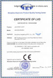 Indicatore luminoso di striscia impermeabile flessibile di vendita calda DC12V 60LEDs/M LED 3528