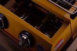 Gril jaune de BBQ du gaz 2-Head pour la vente en gros