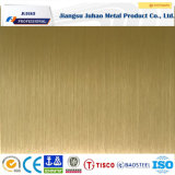 Des Großverkauf-304 Beschichtung-Edelstahl-Platte Höhenruder-der Farben-PVD